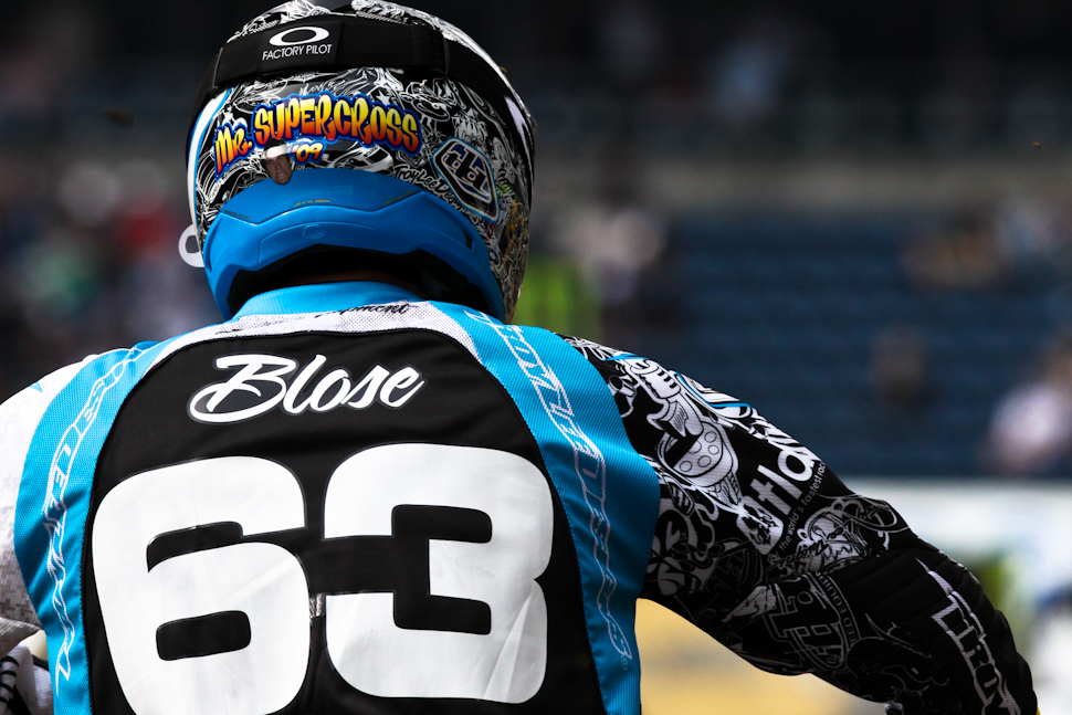 "Chris Blose is currently dating ""Miss Supercross"" which makes him ""Mr. Supercross"""